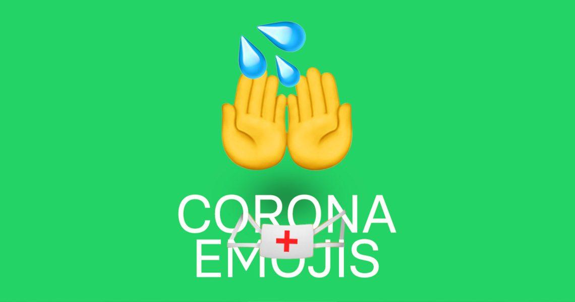 Corona-Emoticons